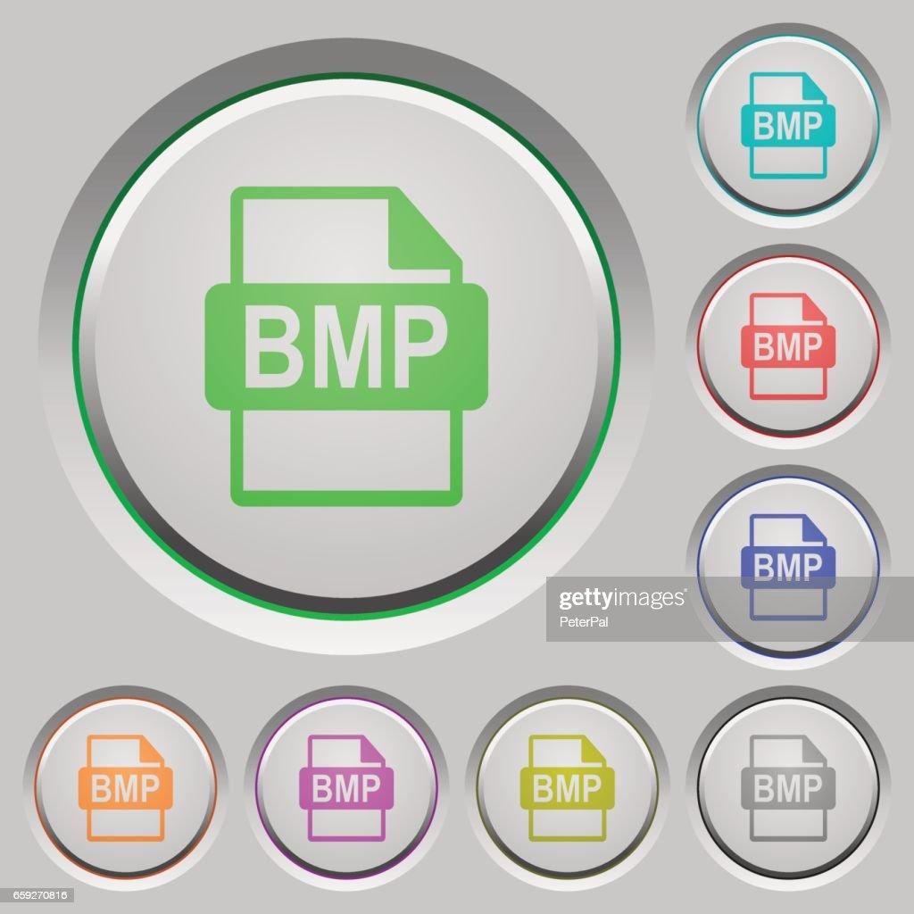 BMP file format push buttons