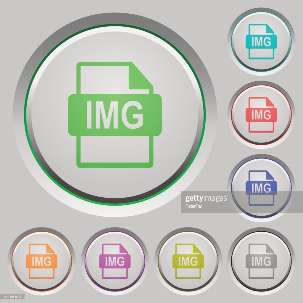 IMG file format push buttons