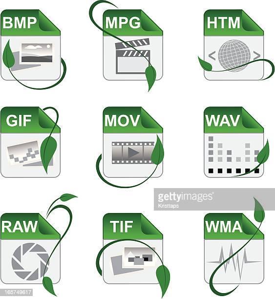 File format symbols
