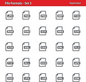 File Formats Icons - Set 3