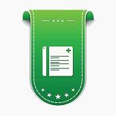File Green Vector Icon Design