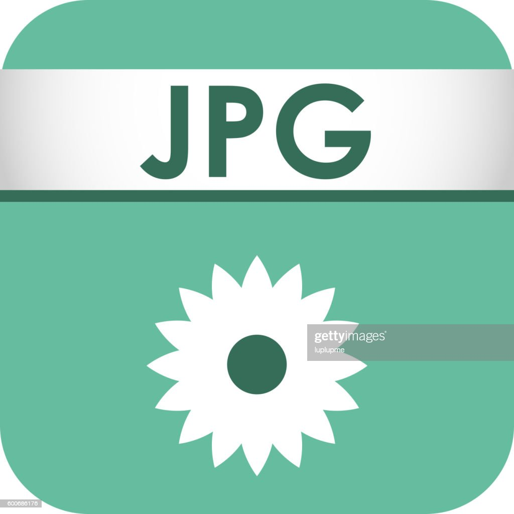 File type icon vector