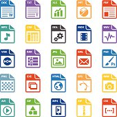 File types icon