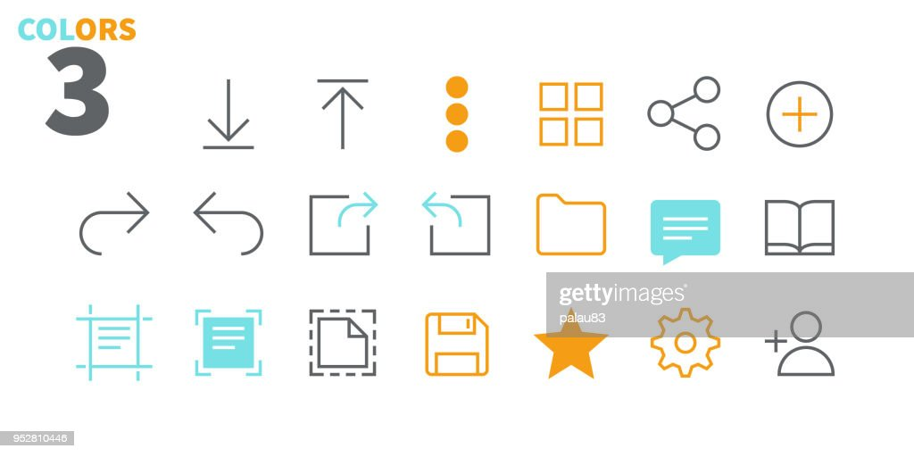 File UI Pixel Perfect Well-crafted Vector Thin Line Icons 48x48 Ready for 24x24 Grid for Web Graphics and Apps with Editable Stroke. Simple Minimal Pictogram Part 1-4