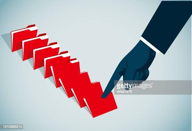 file - domino effect stock illustrations