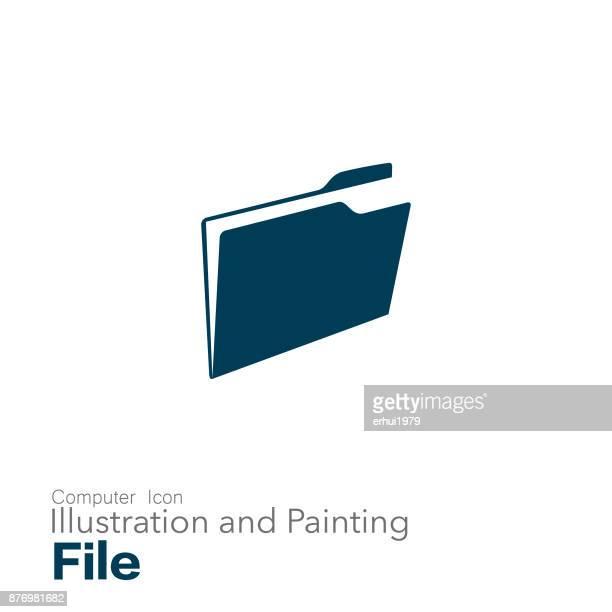 ilustraciones, imágenes clip art, dibujos animados e iconos de stock de archivo - tarjeta de archivo