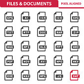 Files & Documents Icons