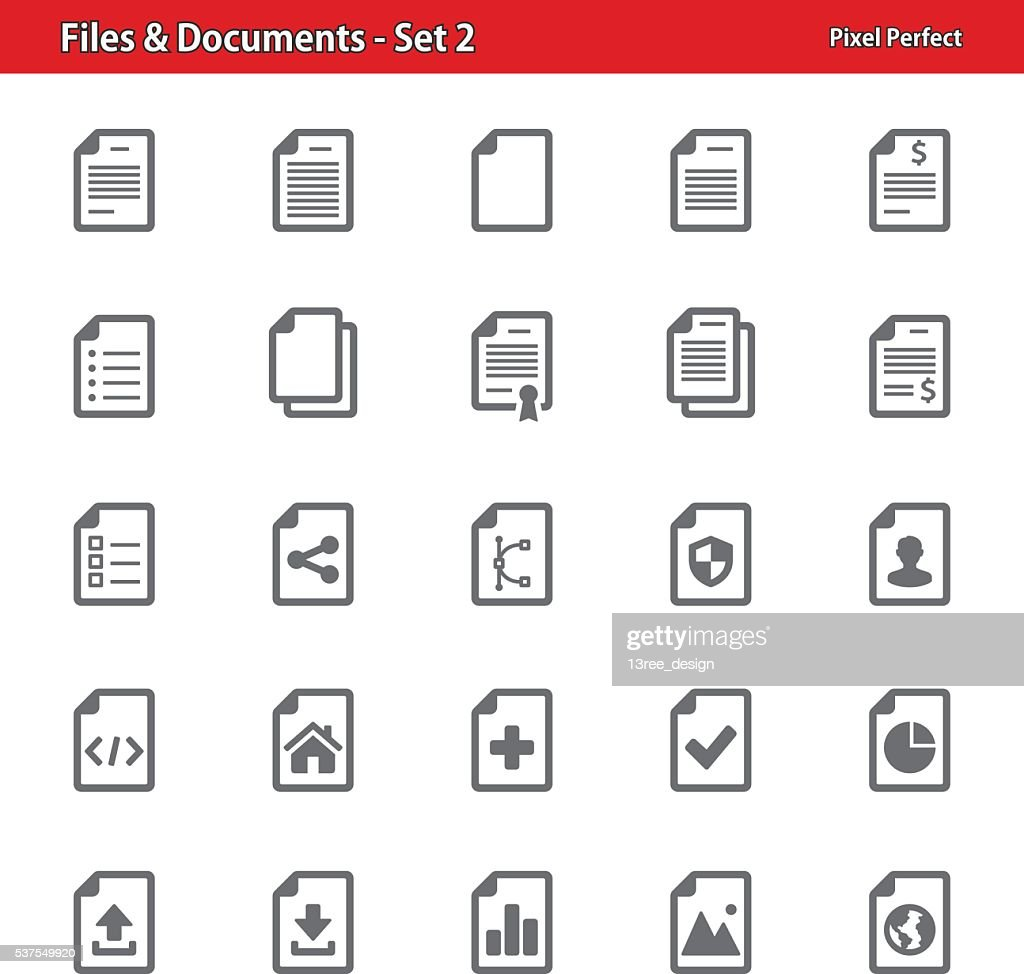 Files & Documents - Set 2