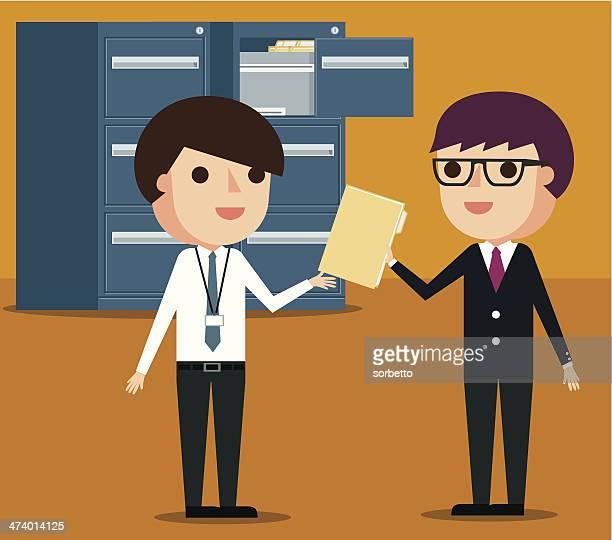 filing documents - filing documents stock illustrations, clip art, cartoons, & icons