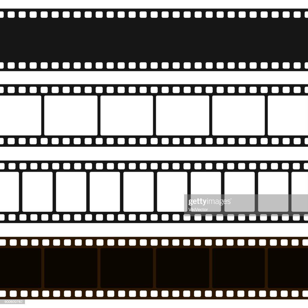 Film black and white strip