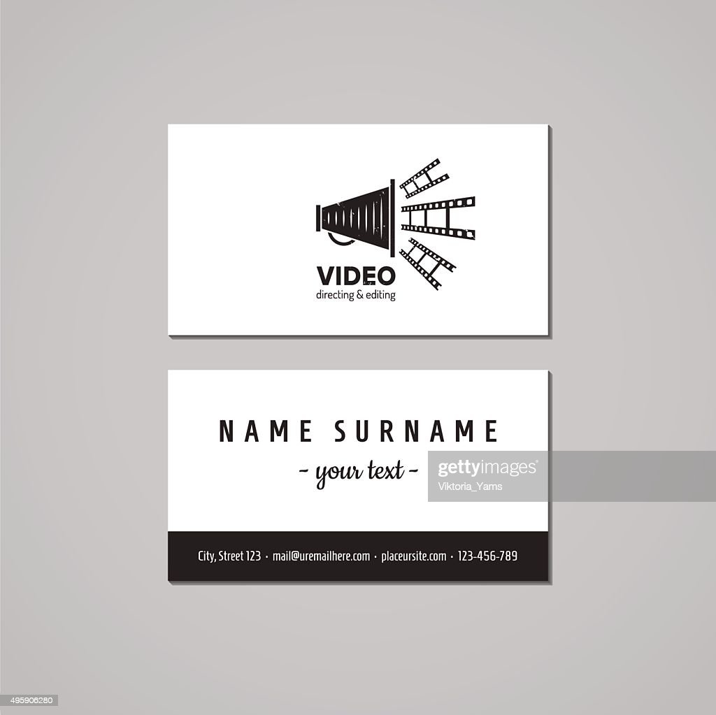 Film Business Cards Choice Image - Free Business Cards
