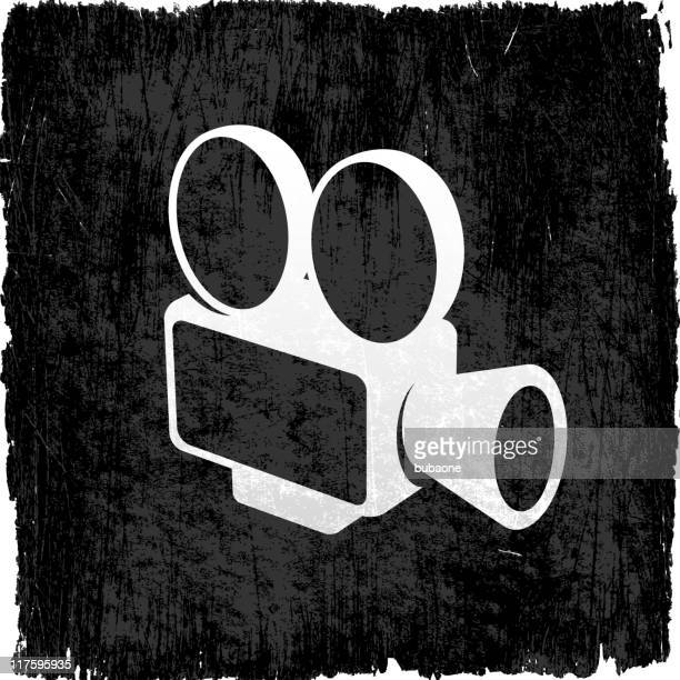 film camera on royalty free vector Background