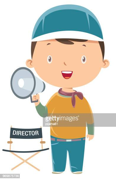 film director - film director stock illustrations