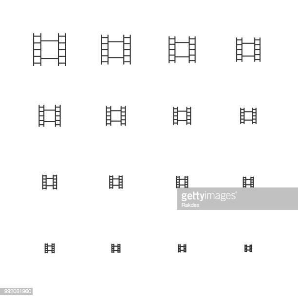 Film Icons - Multi Scale Line Series