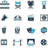 Film Industry and Theater Icons // Azure series