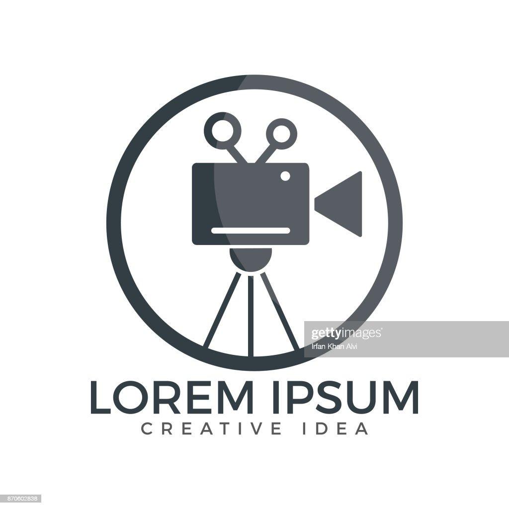 Film or Movie camera vector design.
