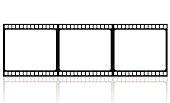 Film reel illustration with vector illustration