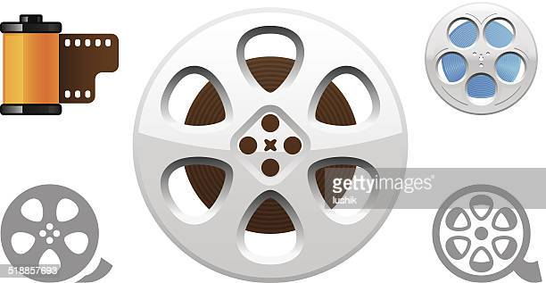 Film Reel object icons