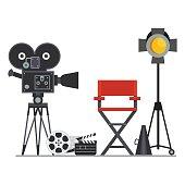 film set director chair