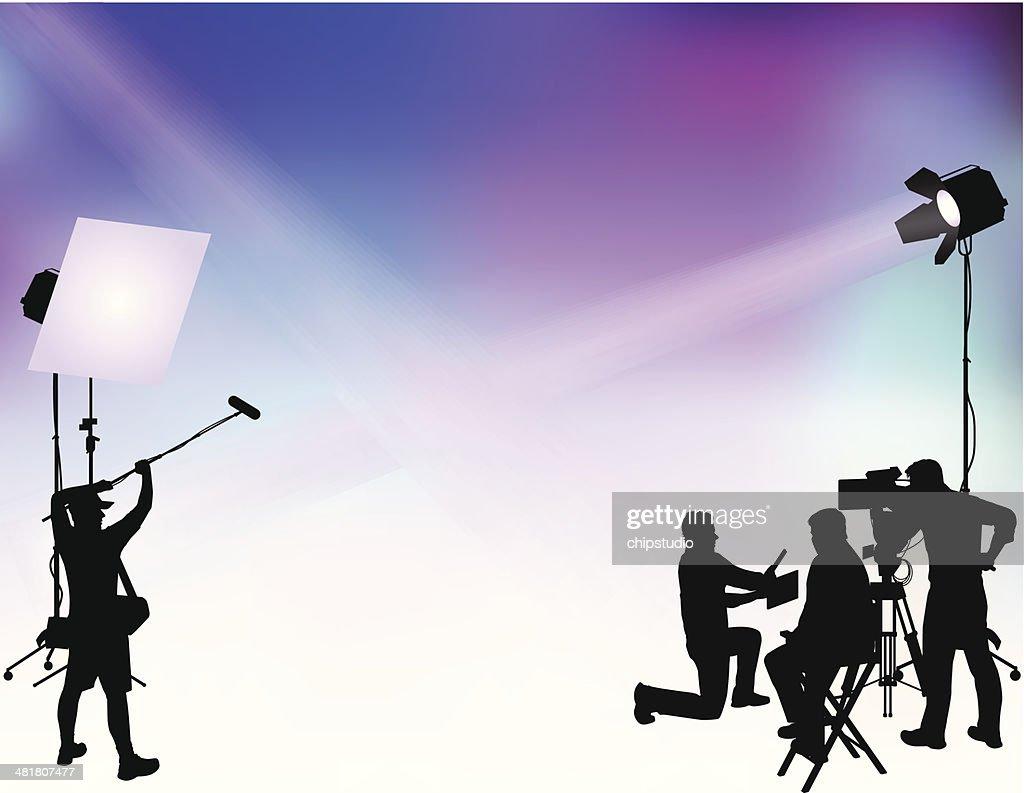 Film Shoot : stock illustration
