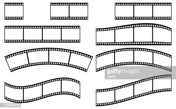 フィルムストリップストック - フィルムリール点のイラスト素材/クリップアート素材/マンガ素材/アイコン素材