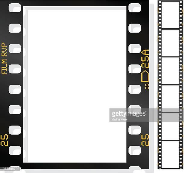 film strip - schwarzweiß bild stock-grafiken, -clipart, -cartoons und -symbole