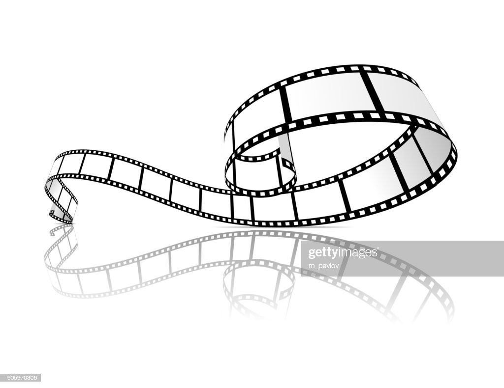 Film strip vector illustration