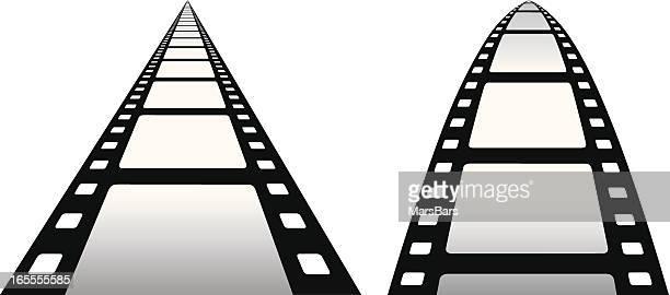 Film vanishing point [VECTOR]