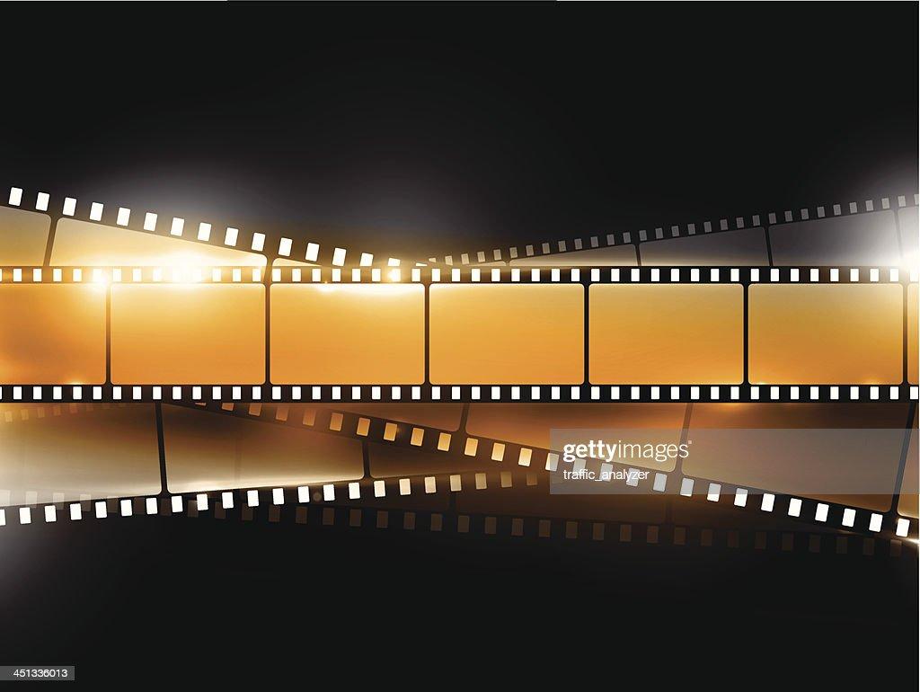 Filmstrips : stock illustration