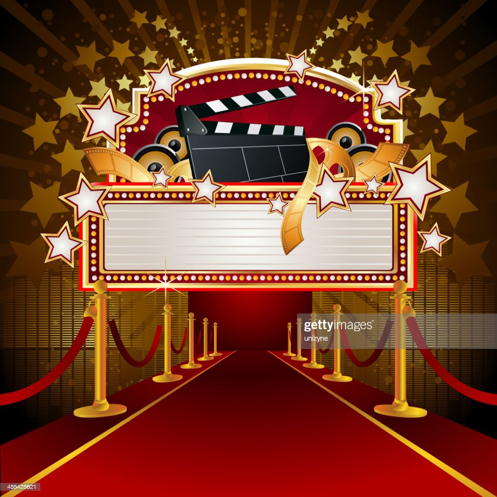 Carpet Protection Film >> Filmy Marquee Display With Redcarpet Vector Art | Getty Images