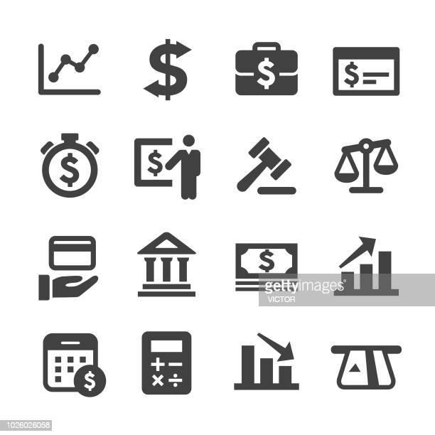ilustrações, clipart, desenhos animados e ícones de finanças e banca o conjunto de ícones - série acme - cartão de crédito