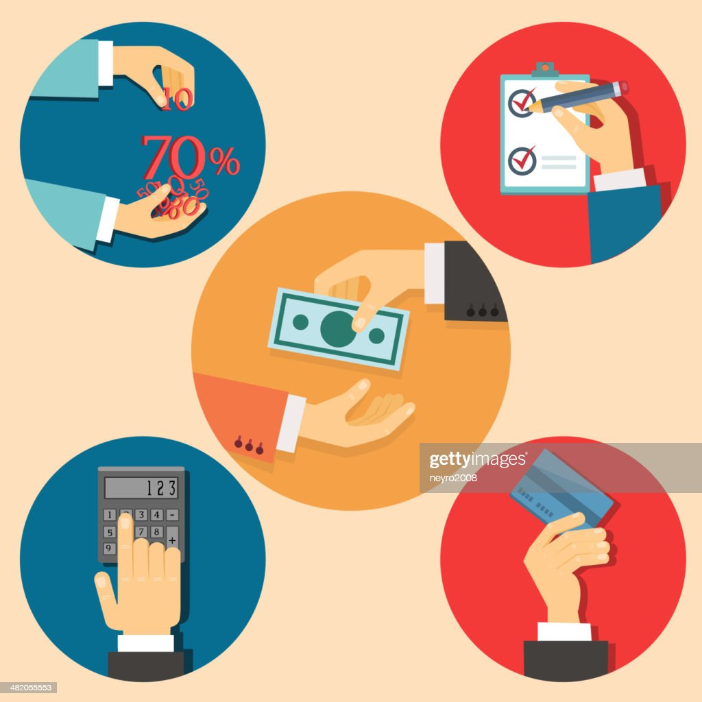 finance and business illustration