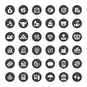 Finance and Stock Market Vector Icons