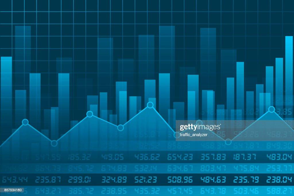 Finance background : stock illustration