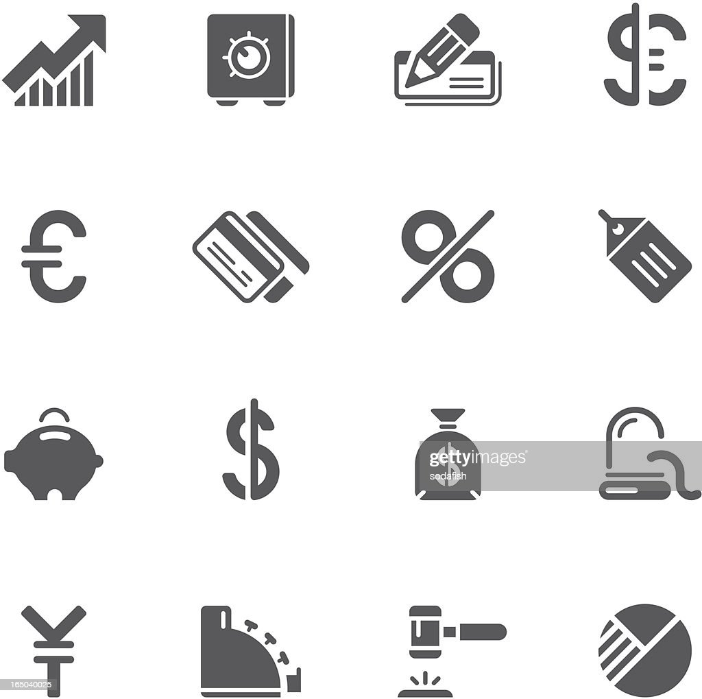 Finance & Banking icons | prime series