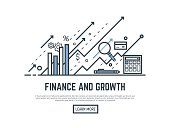 Finance growth banner