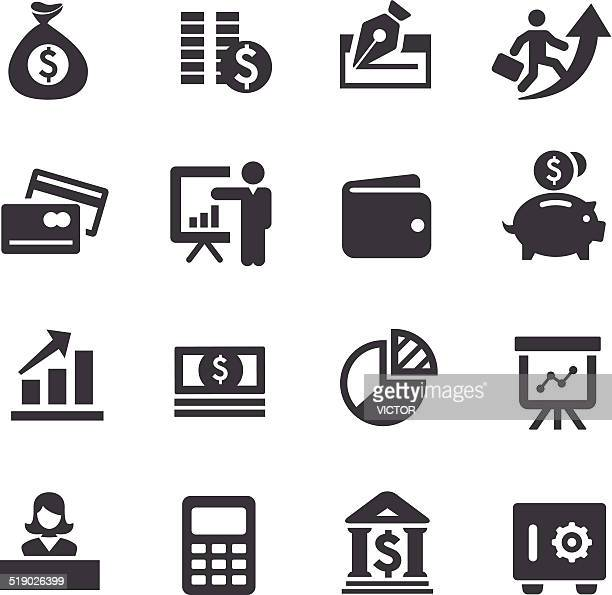 Finance Icons - Acme Series