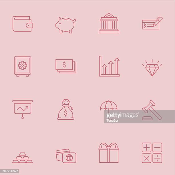 Finance icons | Set 2 - Light Color
