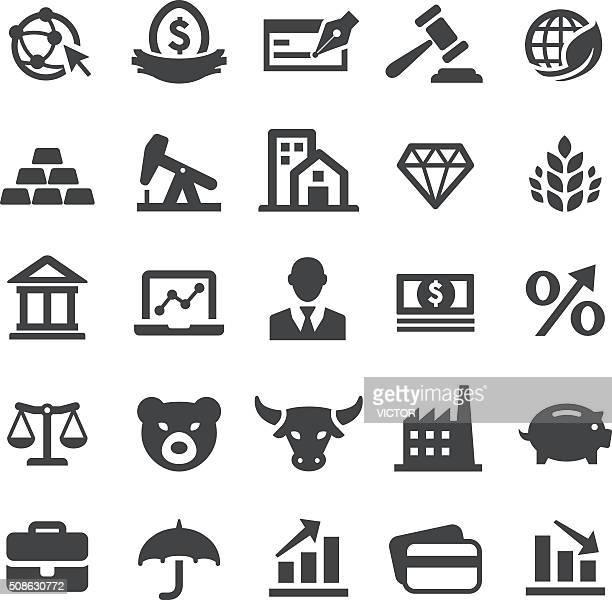 金融のアイコンを設定-スマートシリーズ