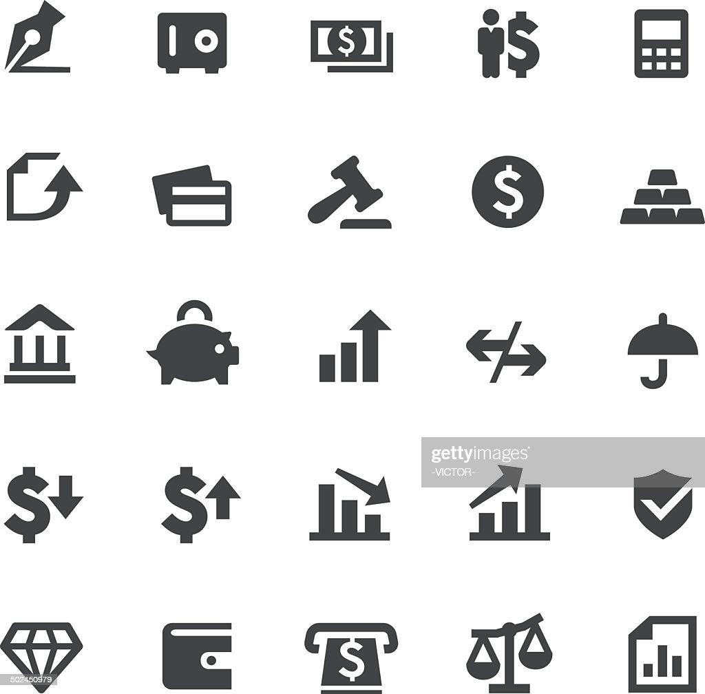 Finance Icons - Smart Series