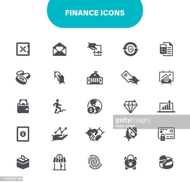 finanz-icons - einzahlungsbeleg stock-grafiken, -clipart, -cartoons und -symbole