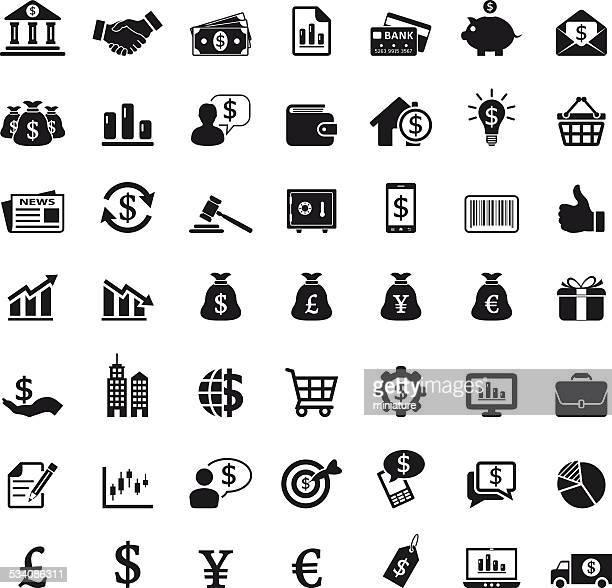 ilustrações, clipart, desenhos animados e ícones de ícones de finanças - office safety