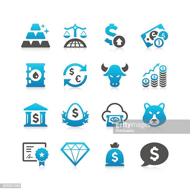 Finance & Investment Icon Set | Concise Series