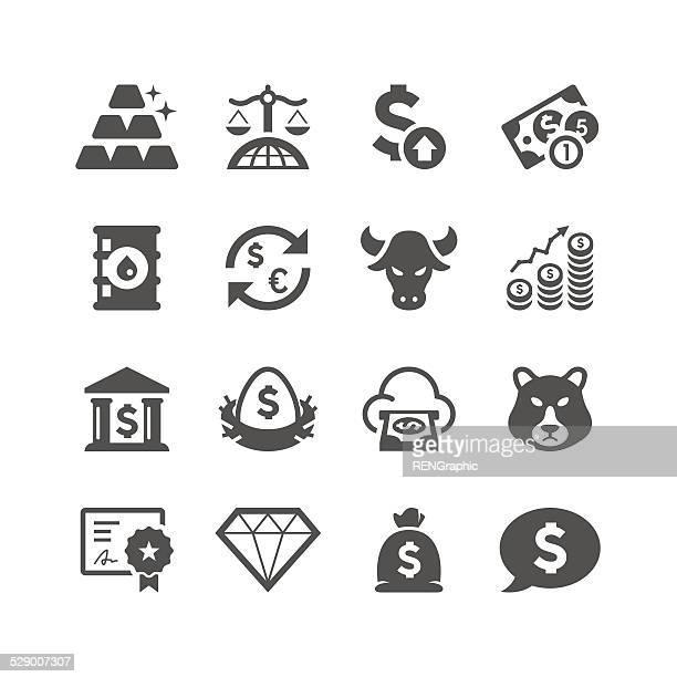 Finance & Investment Icon Set | Unique Series