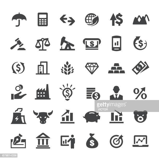 Finance market Icons - Big Series