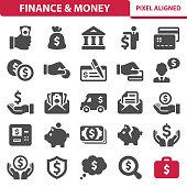 Finance & Money Icons