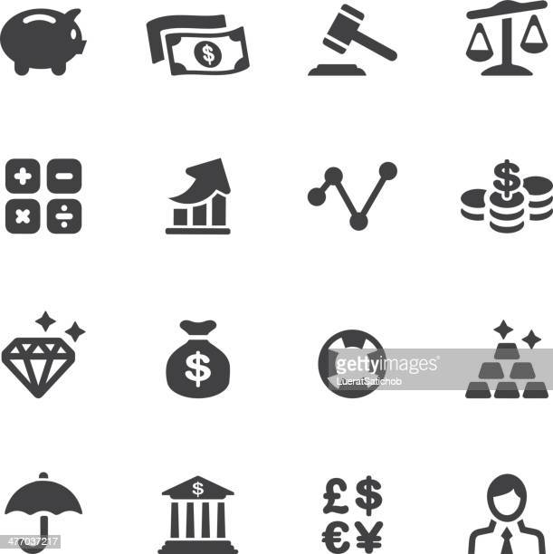 finance silhouette icons - animal scale stock illustrations, clip art, cartoons, & icons