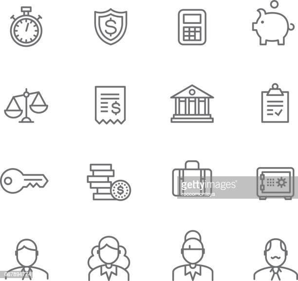 finance - accountancy stock illustrations, clip art, cartoons, & icons