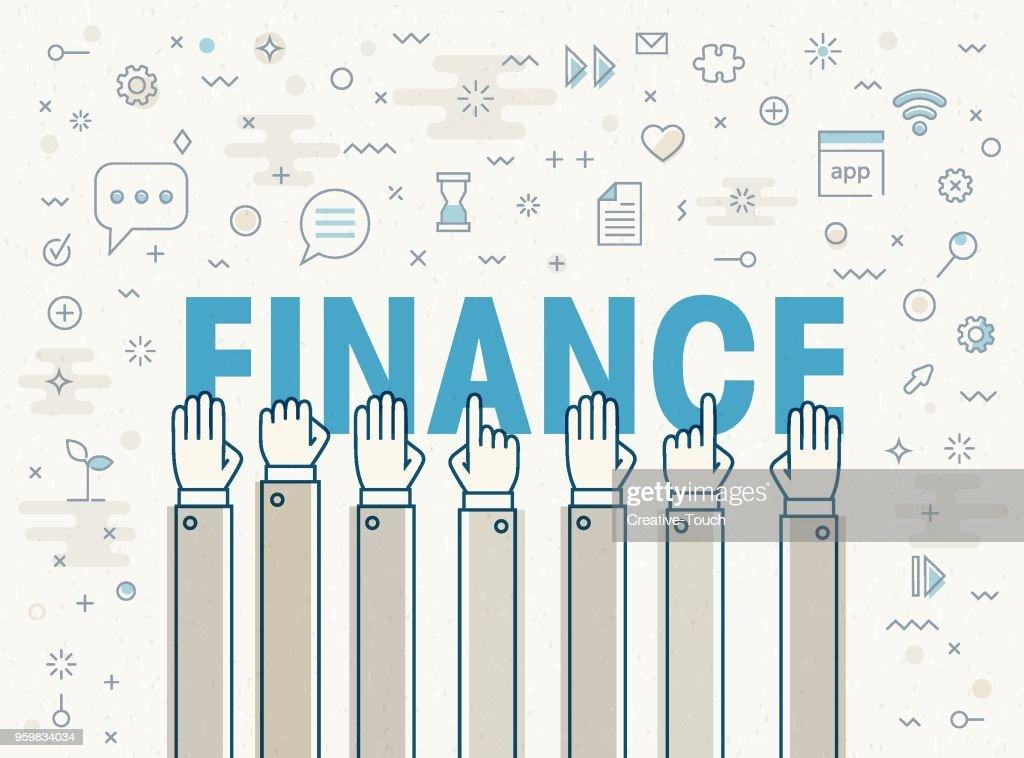Finanzen : Stock-Illustration