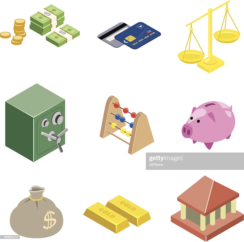 Finance web icons | ISO collection